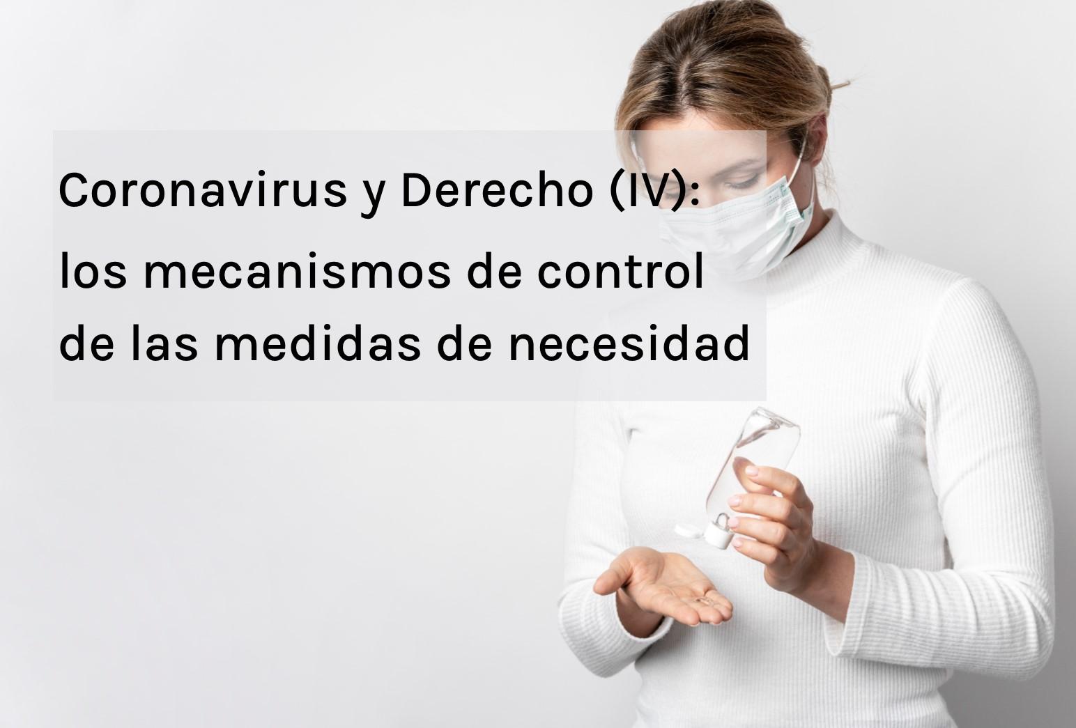 Coronavirus y Derecho IV