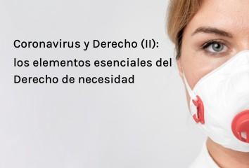 Coronavirus y DerechoII