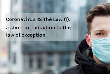 coronavirus & the law I