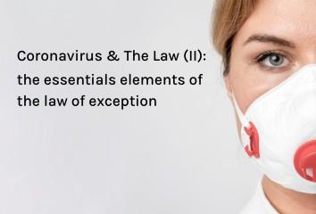 Coronavirus & law II