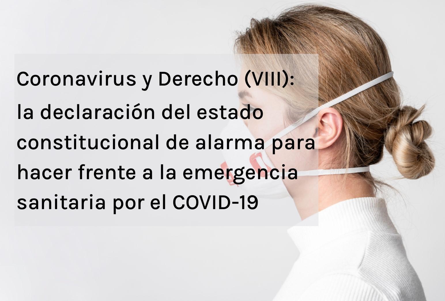 Coronavirus y Derecho (VIII)