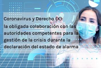 Coronavirus y Derecho X