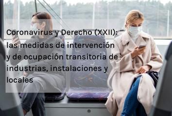 Coronavirus y Derecho XXII