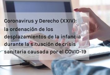 coronavirus y derecho xxiv