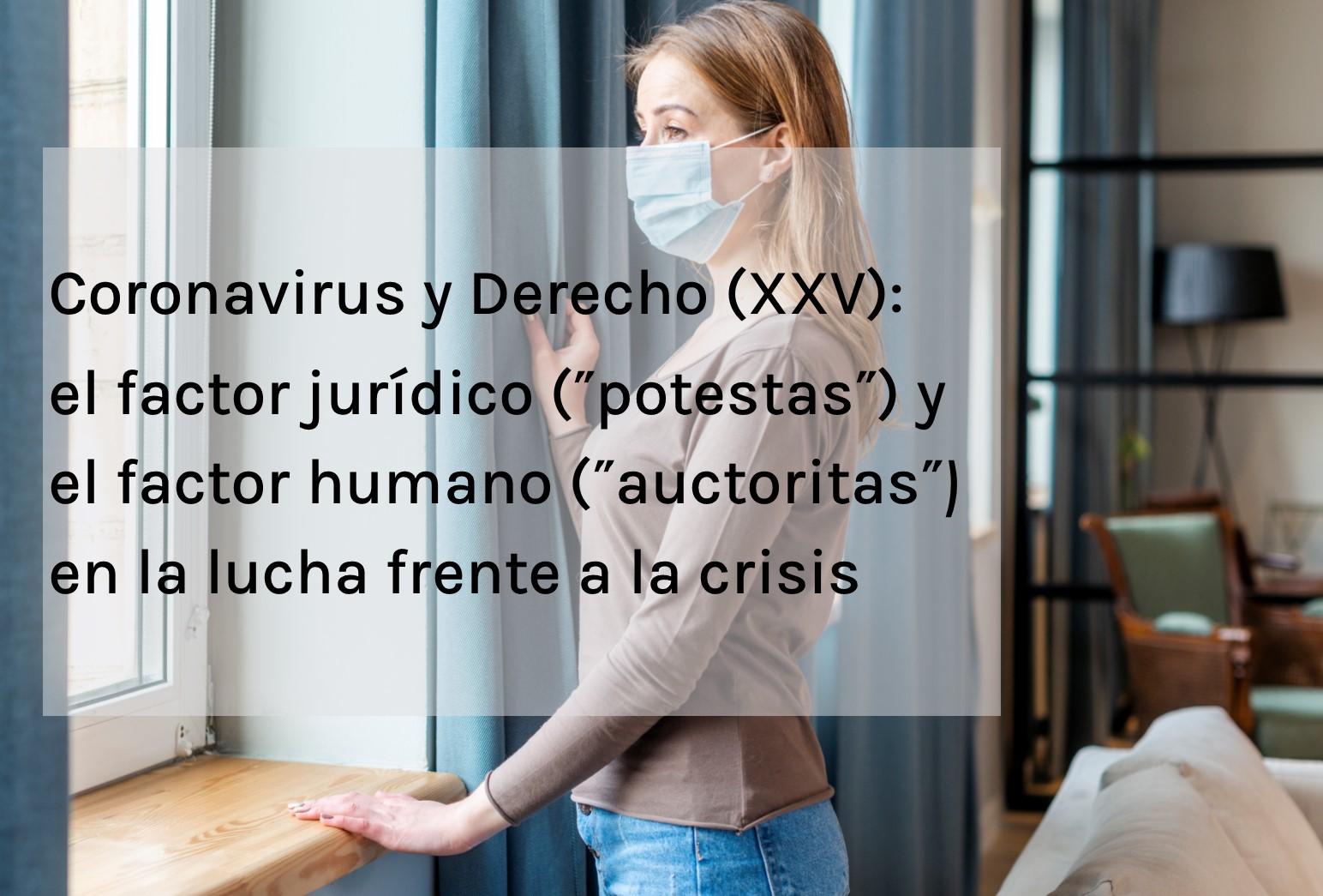 coronavirus y derecho xxv